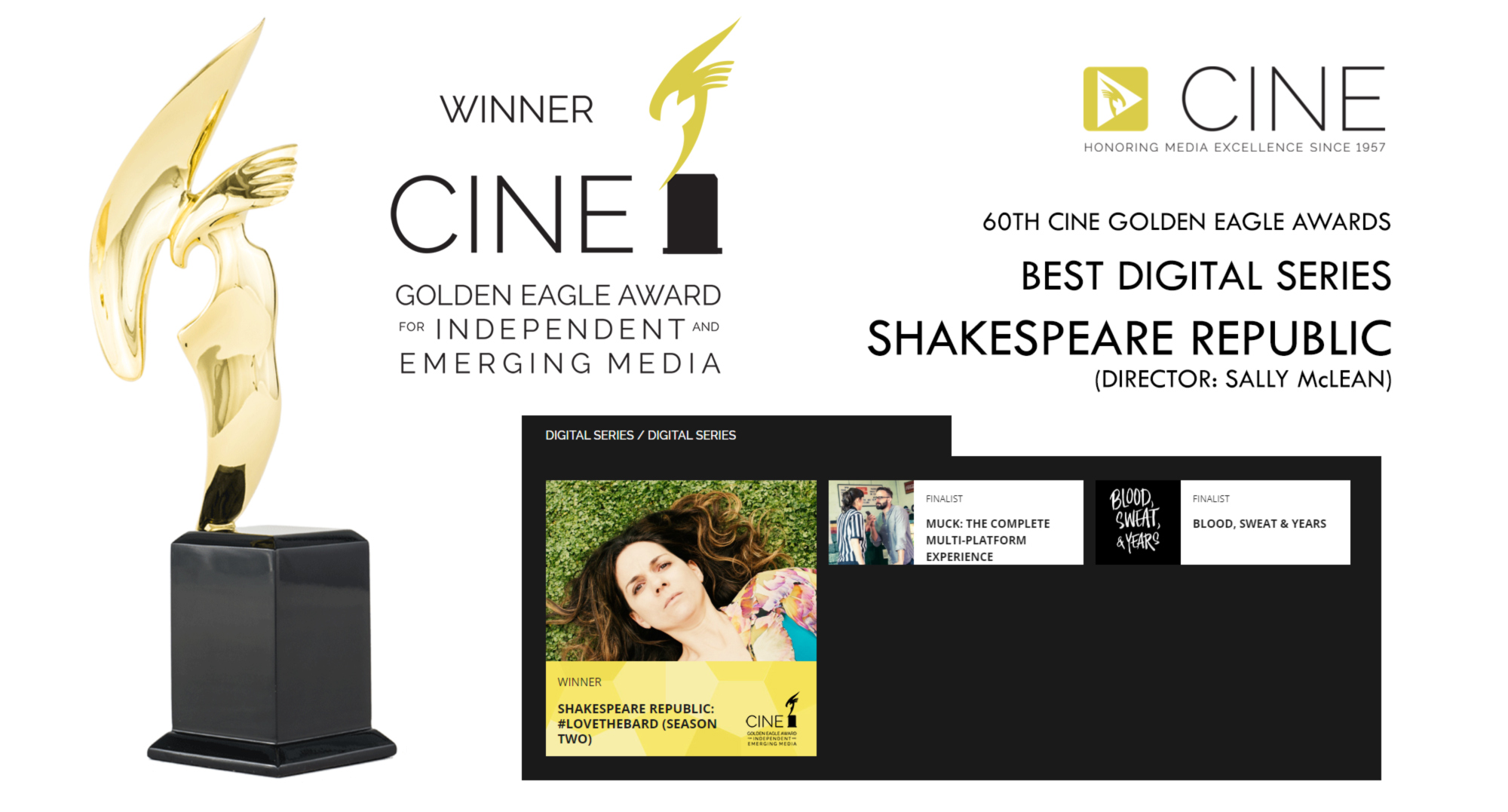 cine golden eagle award announcement