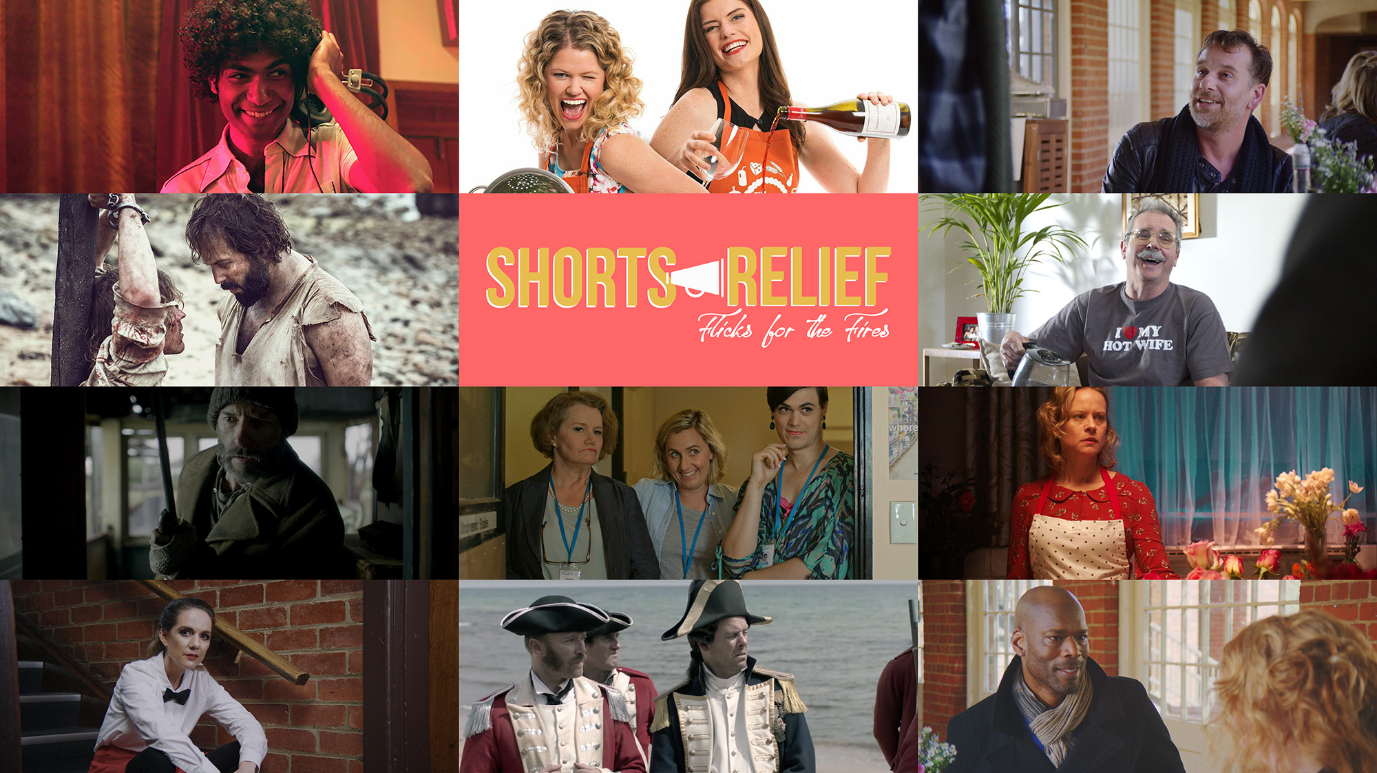 Shorts Relief: Flicks for the Fires at The Capitol Theatre Melbourne